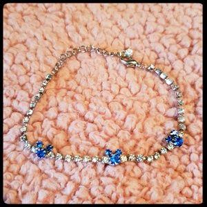 Disney Mickey Mouse rhinestone tennis bracelet